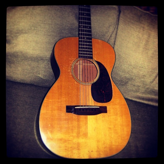 Moms vintage #Martin guitar circa 1950's (?). To sell or not to sell...